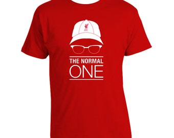 LFC 'The Normal One' liverpool jurgen klopp Red new Manager T-Shirt