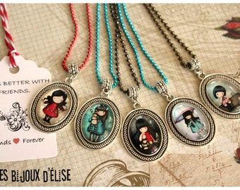 Sale - Girl Necklace Charms Friendship Necklace Party Favors Keychains