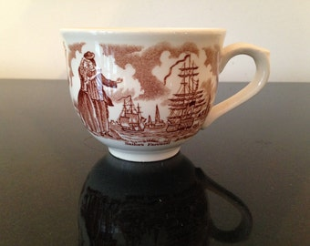 Alfred Meakin Fair Winds Pattern Tea Cup