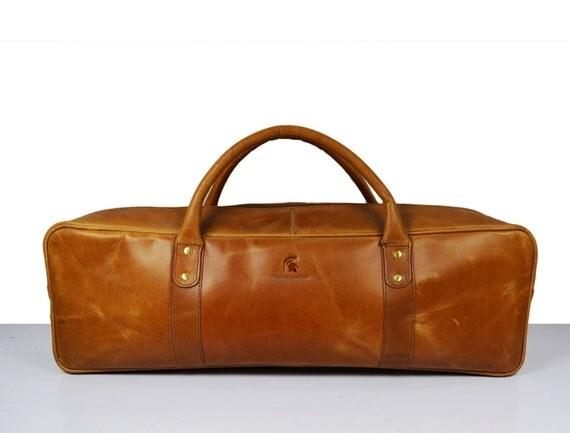 large leather knife bag knife case chefs roll chefs bag. Black Bedroom Furniture Sets. Home Design Ideas