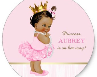 Baby Shower Labels/Tags