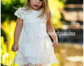 Reserved for Linzey P.: 3 Cream crochet lace dresses
