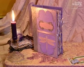 MADE TO ORDER Fairy Book of Shadows Faerie Spellbook Journal Diary Handmade Hardcover Book