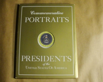 Commemorative Portraits of the Presidents of the United States of America, 35 In Original Folder.