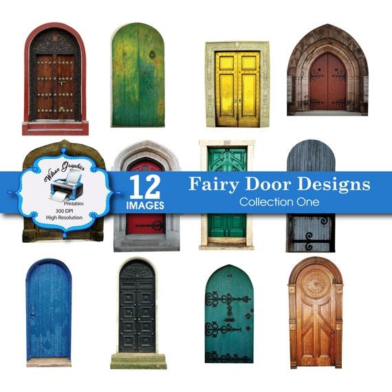 12 fairy door designs collection one diy by wgprintables for Fairy door pattern