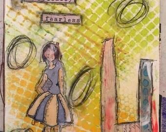 Original Hand Made Art Journal