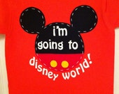 i'm going to disney world! shirt