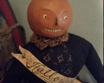 Nicol Sayre Pumpkin Doll