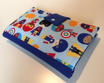 Diaper Bag / Clutch 'Superheroes'