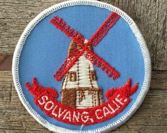 LAST ONE! Solvang California Vintage Souvenir Travel Patch