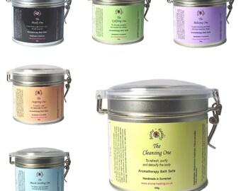 Bath Salts - Aromatherapy Bath Salts - Luxury Bath Salts - Epsom Salt Soak - Epsom Bath Salts - Natural Bath Salts - Essential Oil Bath Salt