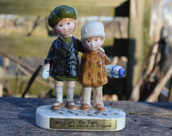 Friends figurine by American Greetings for Holly Hobbie