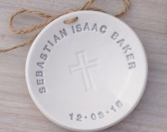 Ceramic Christening Dish