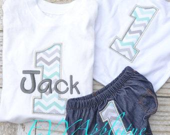 Baby Boy First (1st) Birthday Cake Smash Outfit, Personalized! - Baby Boy First, 1st Birthday Outfit Boy, 1st Birthday Shirt
