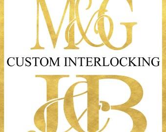 Interlocking Monogram Design Fee