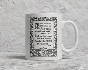 Robert Burns Prayer Mug, Scotland, Scots, Scottish, Robert Burns Mug