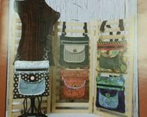Whistlepig Creek Zebra Bag Purse Kit Moda Sandy Gervais  Fabric SALE!