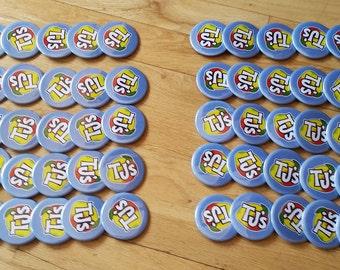Custom 2.5 inch Pinback Buttons Bulk 50ct