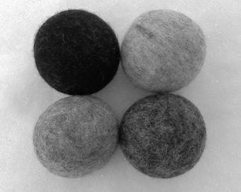 Felted Wool Dryer Balls - Au Naturel