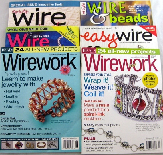 6 wire jewelry magazines special issues