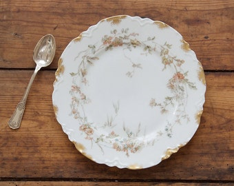 Vintage French Limoges Dessert Plate
