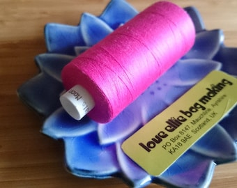 SEWING THREAD Raspberry Pink Moon polyester thread - 1 spool - All Purpose Sewing Thread - Coats Moon Thread - Colour - M213