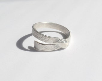 phalanx ring textured silver