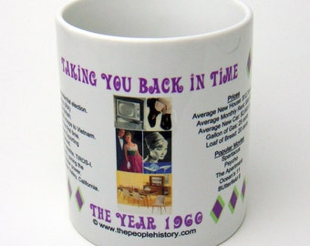 1960 Taking You Back In Time Coffee Mug