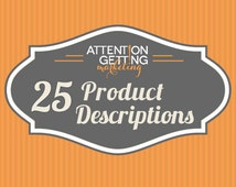 25 Etsy Listing Descriptions Optimized for SEO Including Titles and Tags