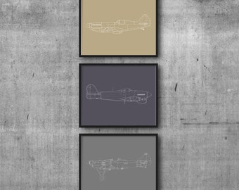 Neutral Planes Set of 3
