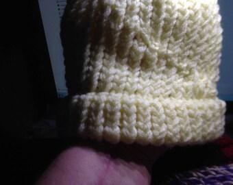 toddler handmade knitted hat