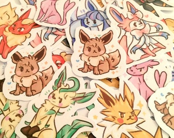 Eeveelution Sticker Pack