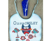 O is for Owsley grateful dead baby bib dye sublimation printed one size fits all