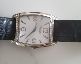 1990s Vintage Bulova Caravel watch, GORGEOUS
