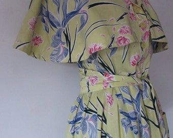 Rare & Wonderful original Horrockses gown, robe , house coat , dressing gown  in beautiful Fantastic condition uk   M