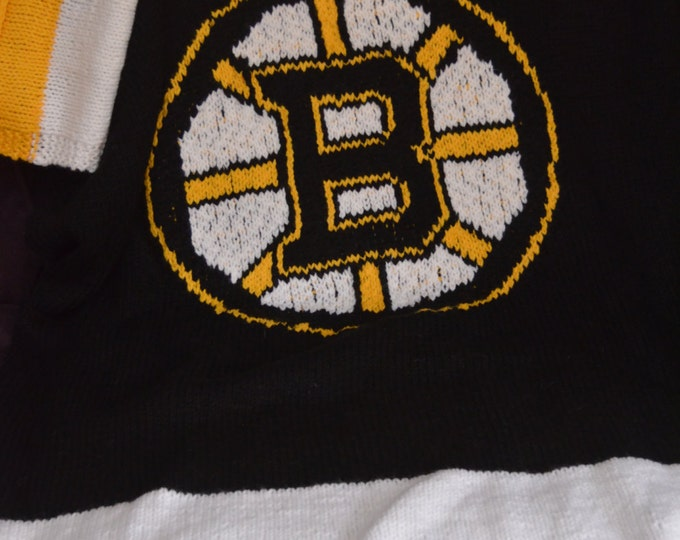 Boston Bruins Throw Blanket - MADE TO ORDER