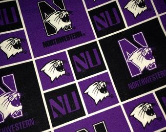 Personalized Northwestern University  Pillowcases STANDARD SIZE