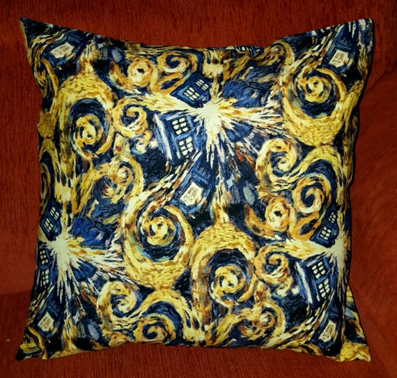 Exploding Tardis  Pillow Cover