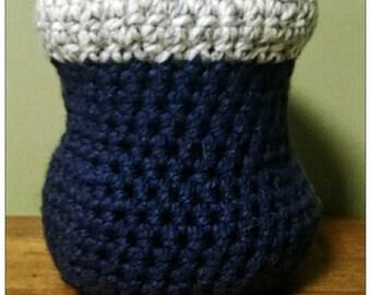 Crochet vase