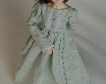 Regency Dress green for Minifee Moe M-line MNF Slim MSD