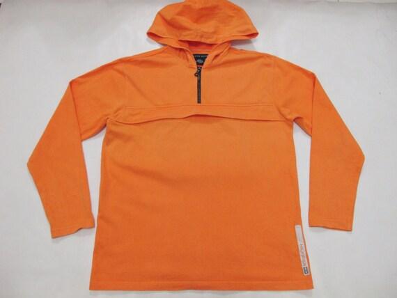 tommy hilfiger pullover men small orange reflective logo long. Black Bedroom Furniture Sets. Home Design Ideas