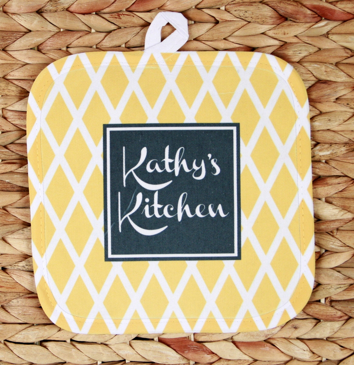 Cooking Gifts For Women Personalized Oven Mitt Pot Holder