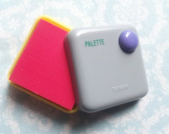 Eraser Palette Vintage 1980s