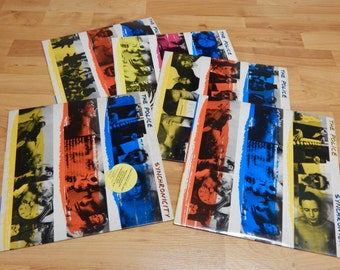 The Police Synchronicity Vinyl LP  Lot of 5 Records 1983 USA, 5 Different covers Audiophile
