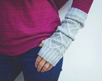 Fingerless Gloves - Arm Warmers - Hand Warmers