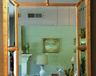 Gilded Ornate Beveled Mirror