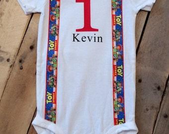 Toy Story Shirt - Toy Story Birthday Shirt - Personalized - Personalized Toy Story - Boys Toy Story Outfit - Toy Story -1st Birthday