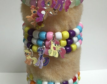 My Little Pony Charm Bracelet Party Favors Value Pack