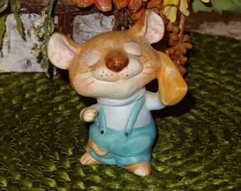 Vintage Homco Mouse Figurine