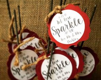 Sparkler tags, Wedding sparklers, sparkler overlay, sparkler send off sign, sparkler sign, sparkler send off, sparkler for wedding, sparkler